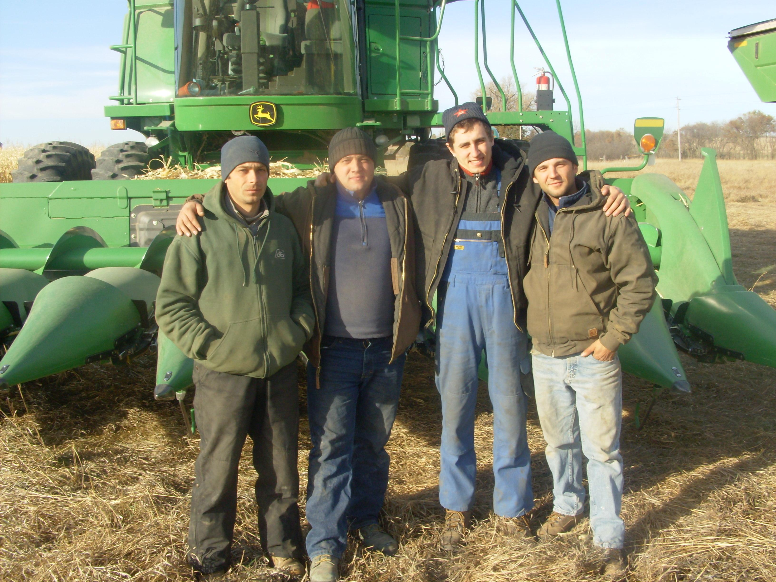 2011 Intern at Mitch Kinnschtzke Farms