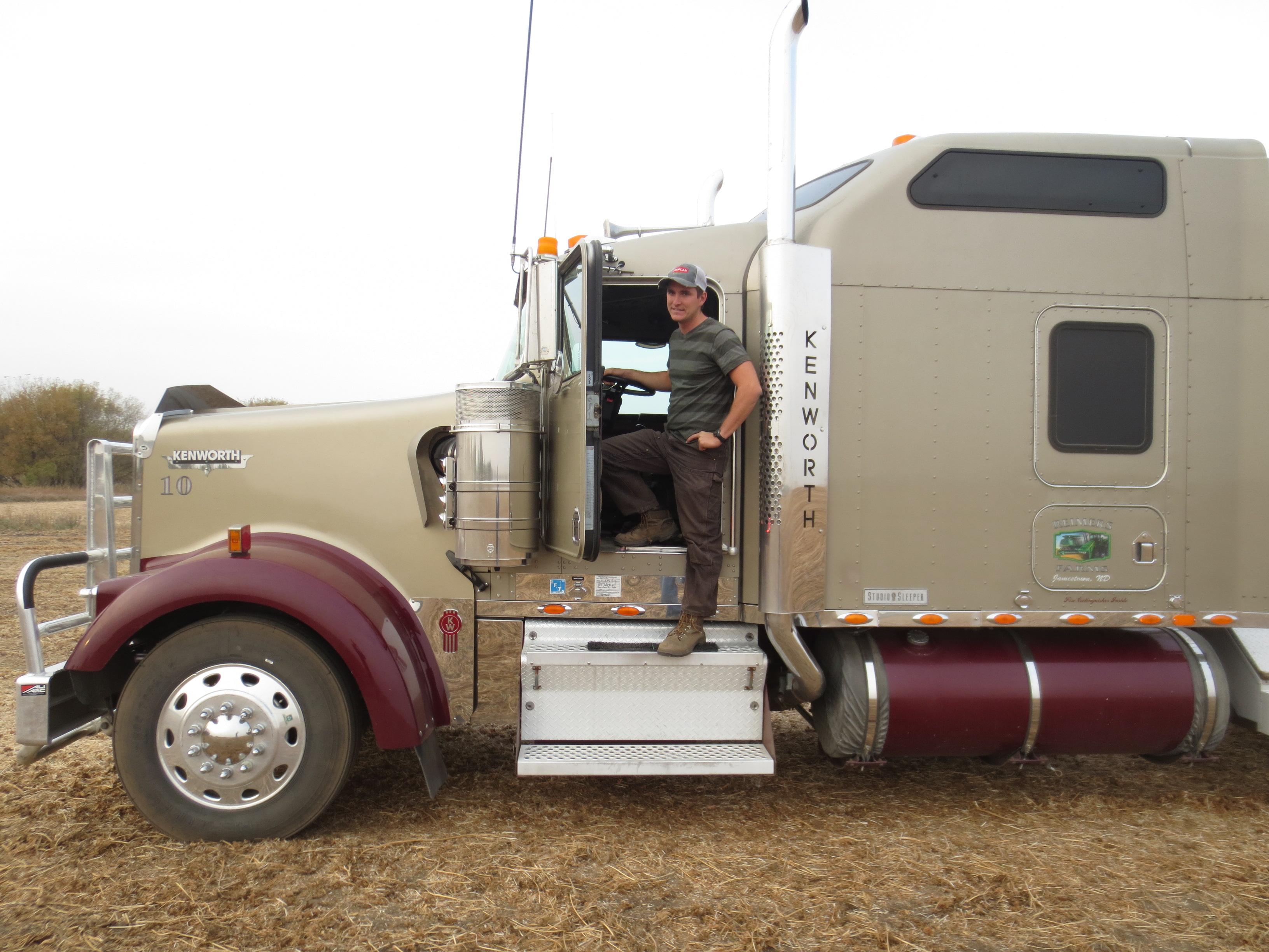 2012.09 intern at Reimers Farm