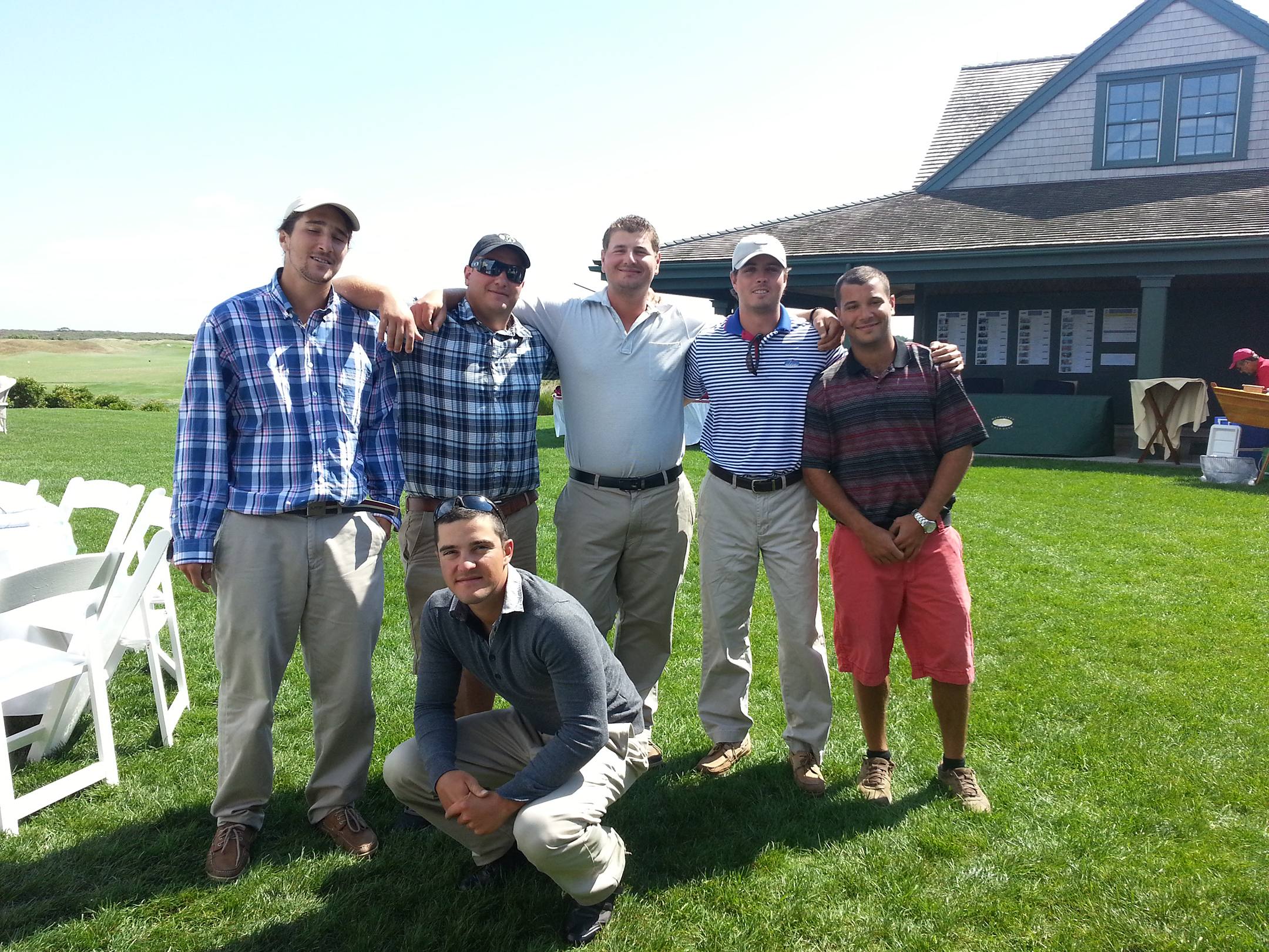 2013 September Interns at Nantucket Golf Club