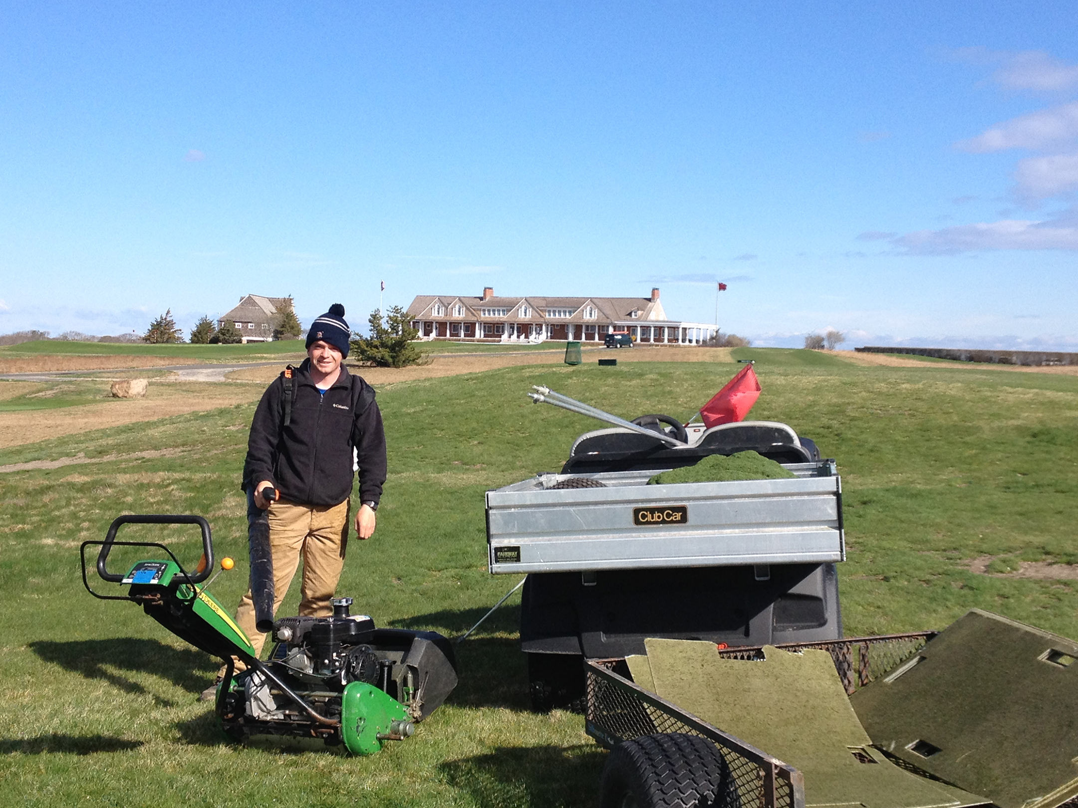 2015 Intern at Shinnecock Hills Golf Club