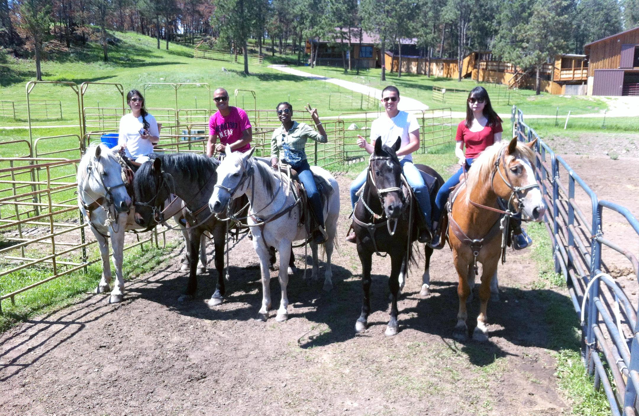 2015 July Interns at Christensen Farms