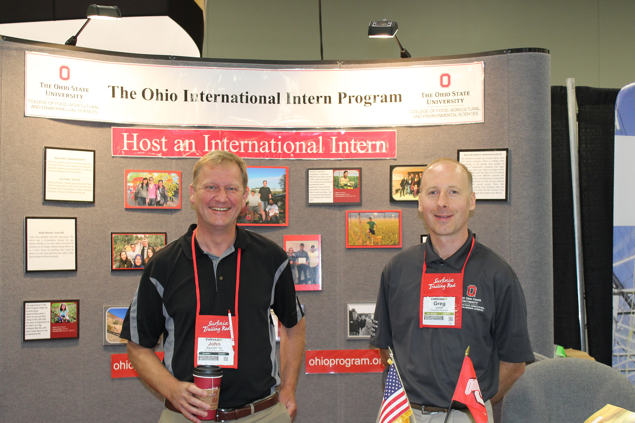 The Ohio Program Booth 1