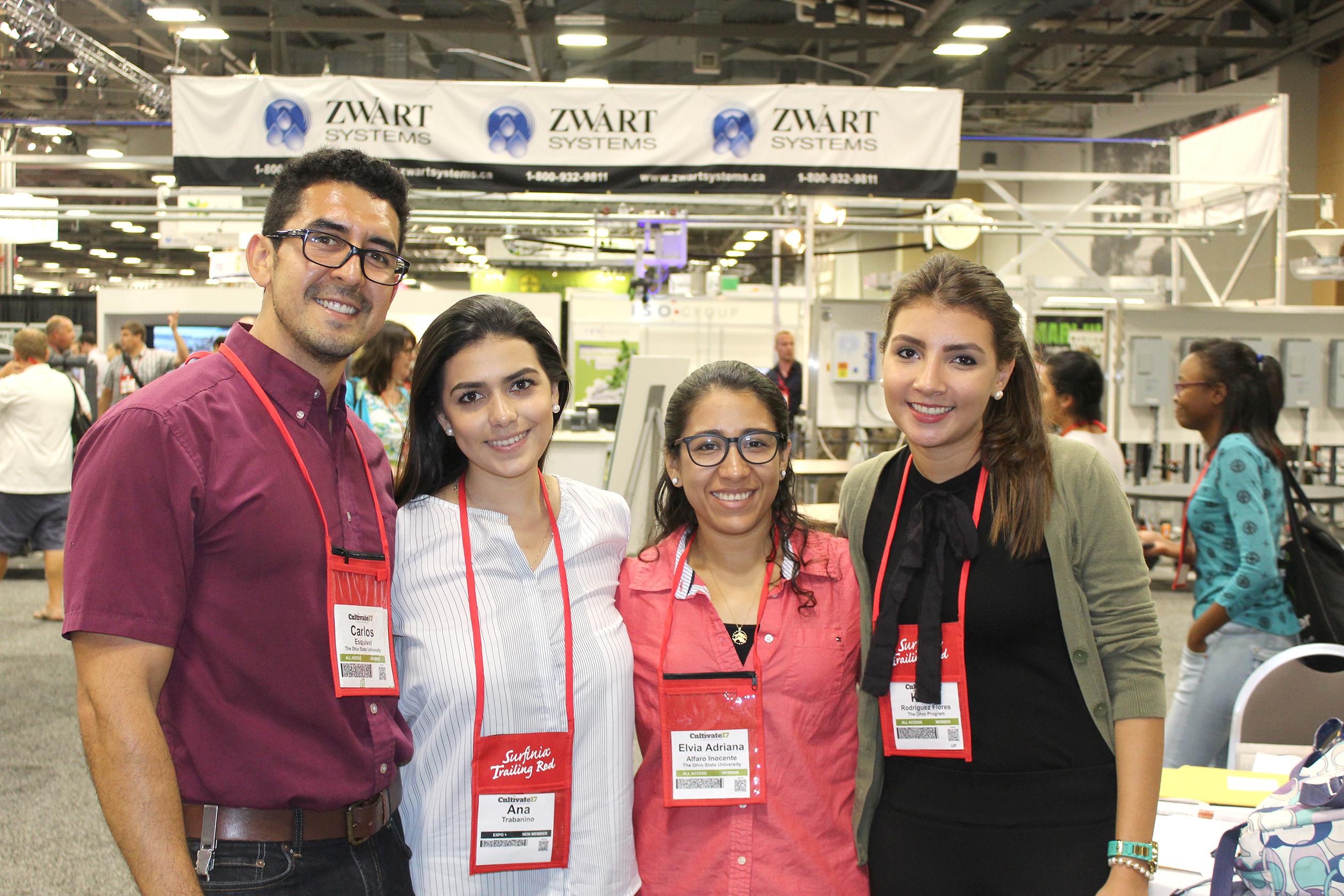Karla with interns