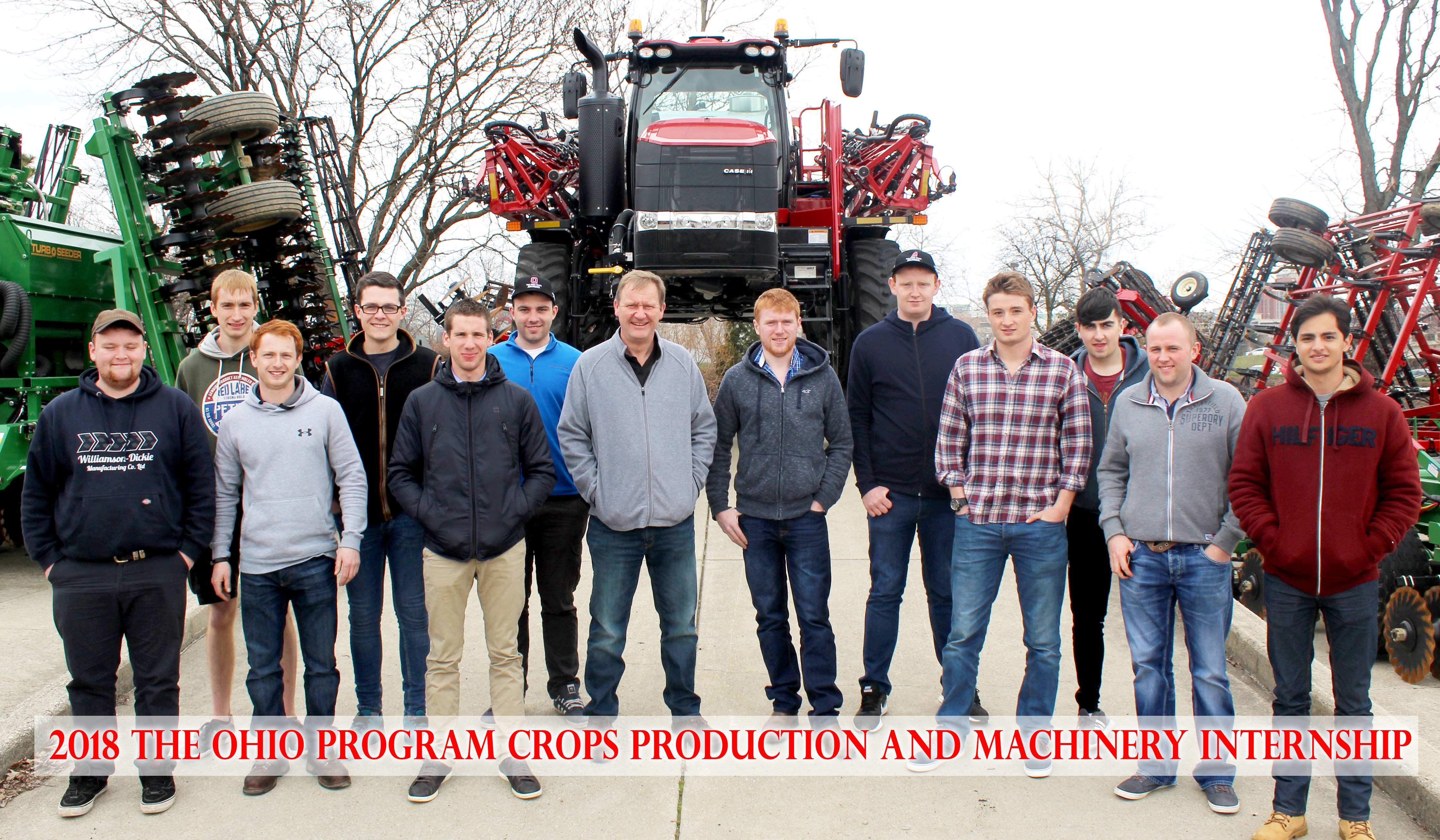 Crops Production and Machinery Internship in Apr 2018
