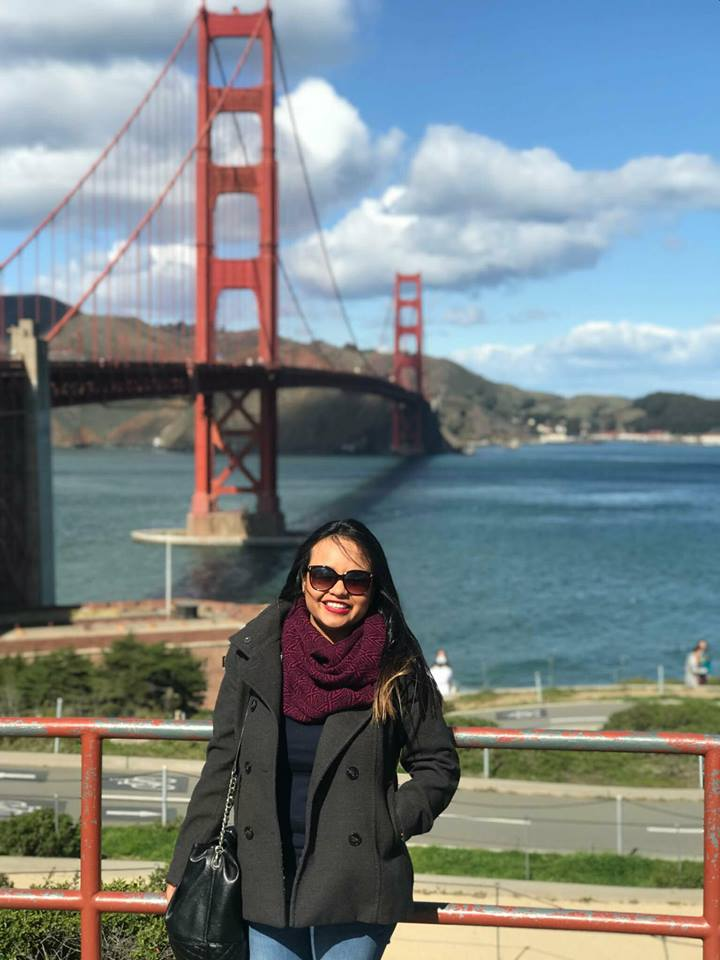 2018.03 Intern Johanna at San Francisco