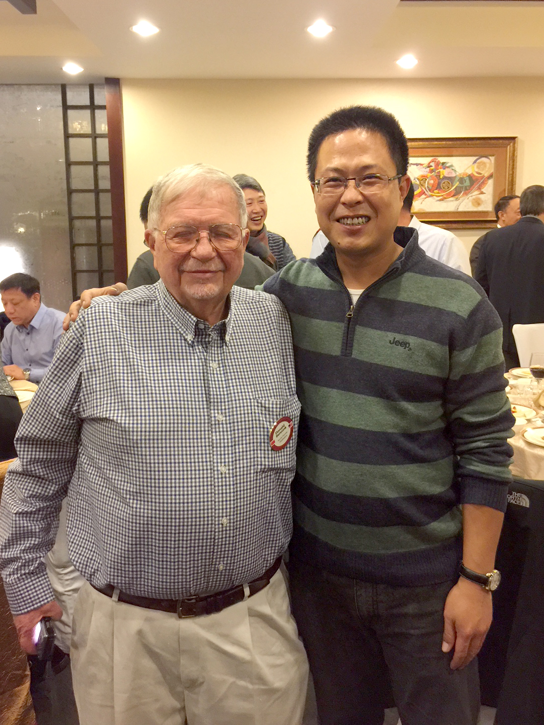 Dr. Donald Bennink and Mr. Liu Dengke