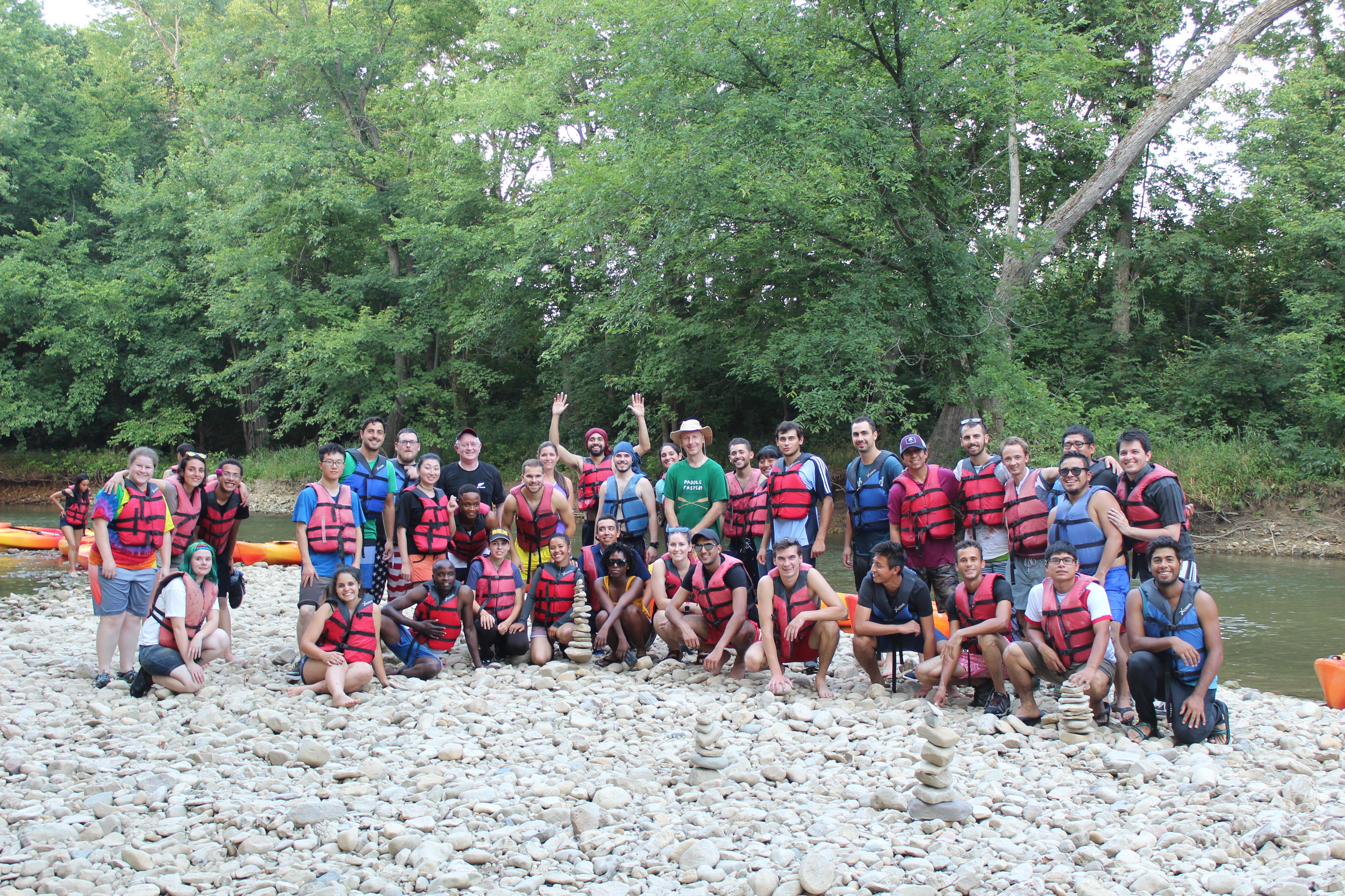 2018 Kayaking Group