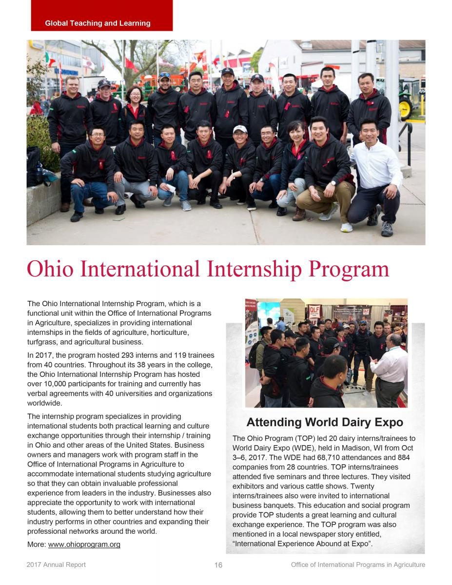 Page 16 - Ohio International Internship Program
