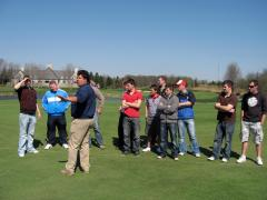 2010.04.06 turf interns visit Double Eagle