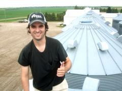 2012 Intern Alexandre Rosa @ Lynn Farms