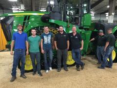 2015 October John Visit Field Brothers Farms