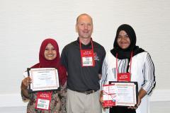 Interns received certificates