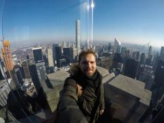 2018 January Intern Luis Marchiori Visit New York