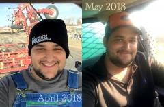2018 April intern Pedro's first month with Bachand Farms