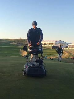 2018 June Intern Justin Harrison @ U.S.OPEN