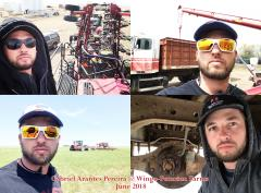 2018 June Intern Gabriel Arantes Pereira @ Winge-Petersen Farms