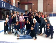 2018 August KWS Interns Ice Skating