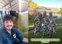 2018 Dairy Intern Sebastian