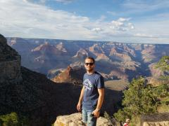 2018 July Intern Luis Marchiori @ Grand Canyon 2