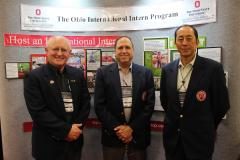 Chrisman, O'Keeffe and Yining at The Ohio Program Booth