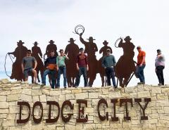 Machinery Interns visit Dodge City