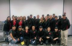 Group photo with Virtual Farm Tour speakers