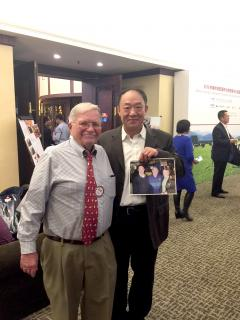 Dr. Donald Bennink and Mr. Li Ping