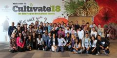 2018 Cultivate TOP-Hort Interns