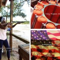 2018.07.01 Intern Tutsi Jali Tried Clay pigeon/ target shooting